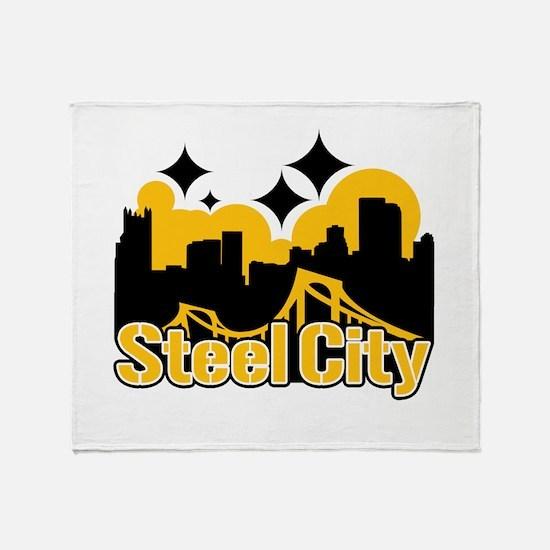 Steel City Throw Blanket