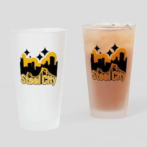 Steel City Drinking Glass