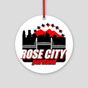 Rose City Ornament (Round)