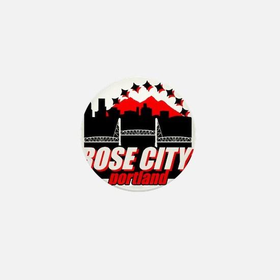 Rose City Mini Button