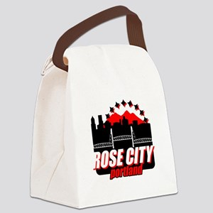 Rose City Canvas Lunch Bag