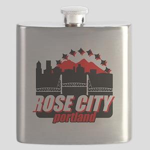 Rose City Flask