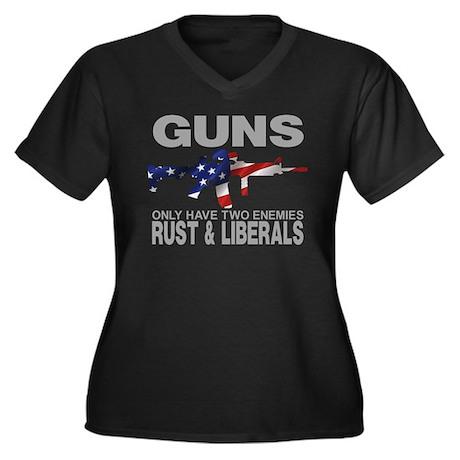 GUNS Plus Size T-Shirt