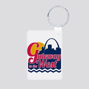 Gateway to the West Keychains