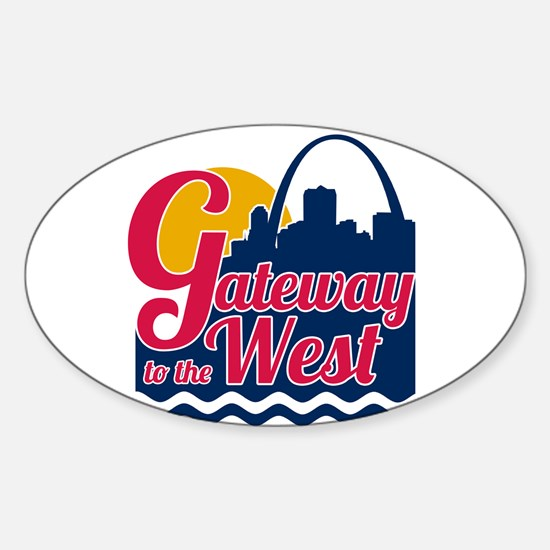 Gateway to the West Decal