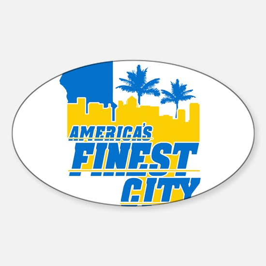 Americas Finest City Decal