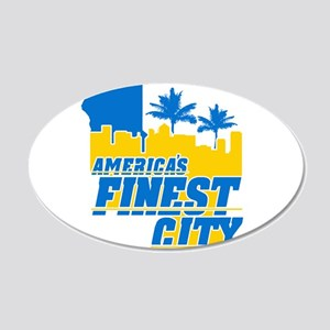 Americas Finest City Wall Decal