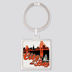 City by the Bay Keychains