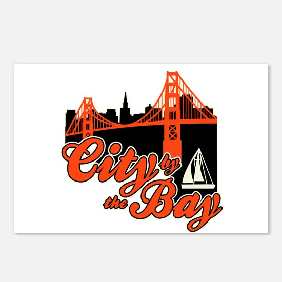 City by the Bay Postcards (Package of 8)