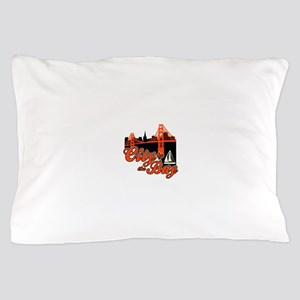 City by the Bay Pillow Case