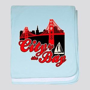 City by the Bay baby blanket