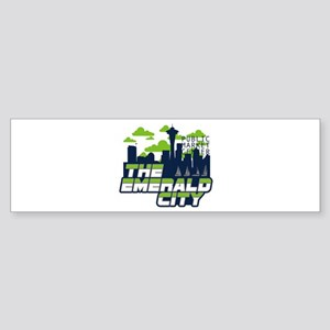 Emerald City Bumper Sticker