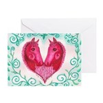 Curly Victoria Greeting Card