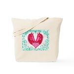 Curly Victoria Tote Bag
