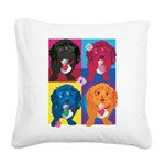KIMSHOP.png Square Canvas Pillow