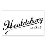 Healdsburg est 1867 Sticker