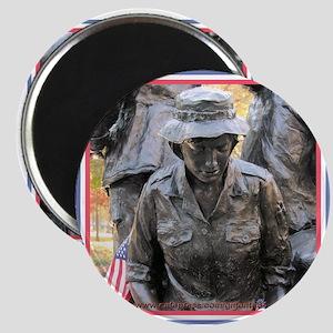 Vietnam Womens Memorial 3 Magnet