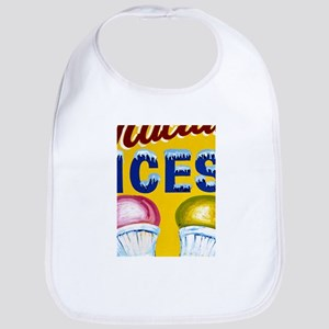 Old Signs: Ices! Bib