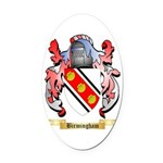 Birmingham Oval Car Magnet