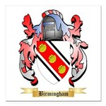 Birmingham Square Car Magnet 3