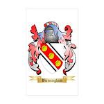 Birmingham Sticker (Rectangle 50 pk)