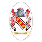 Birmingham Sticker (Oval 10 pk)