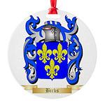 Birks Round Ornament