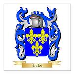 Birks Square Car Magnet 3