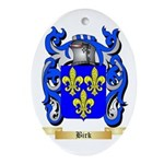 Birk Ornament (Oval)