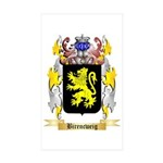 Birencweig Sticker (Rectangle 50 pk)