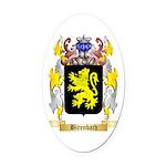 Birenbach Oval Car Magnet