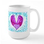 Curly Victoria Purple Mug