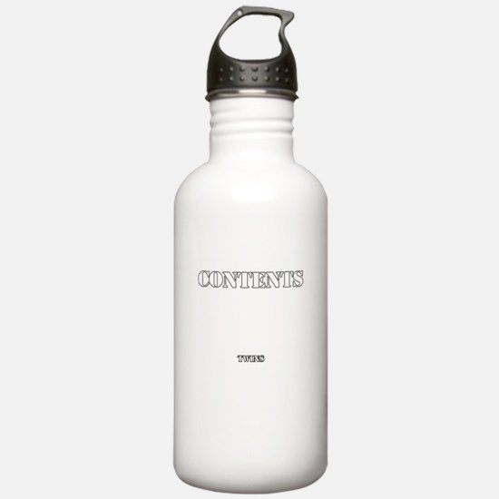 Contents Twins Water Bottle