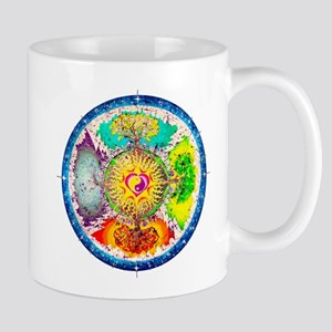 Four Seasons Mandala Mug