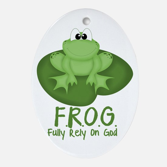F.R.O.G. Ornament (Oval)
