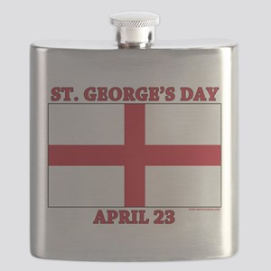 St.Georges Day Flask
