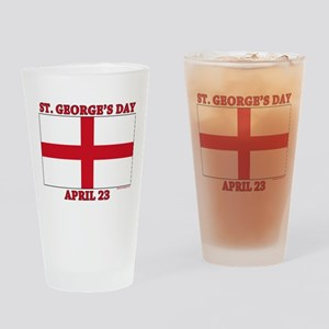 St.Georges Day Drinking Glass