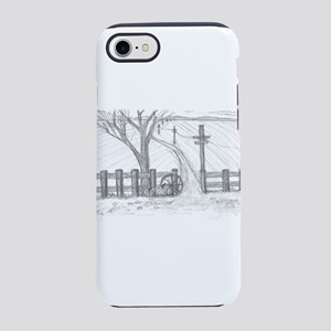 country road iPhone 7 Tough Case