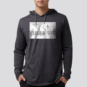 country road Mens Hooded Shirt