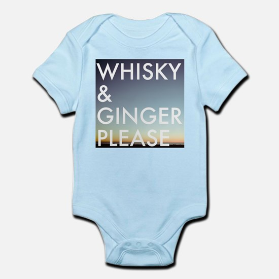 whisky and ginger, please Body Suit