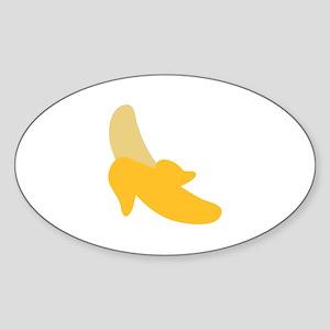 Banana Sticker (Oval)