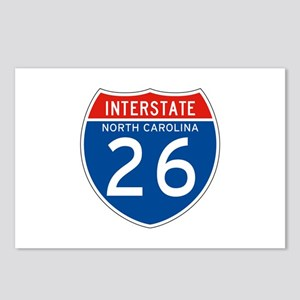 Interstate 26 - NC Postcards (Package of 8)