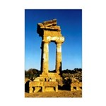 Temple of Castor and Pollux Mini Poster