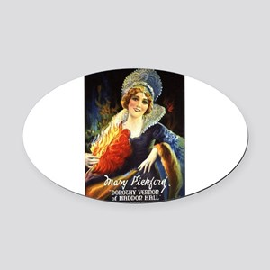 mary pickford Oval Car Magnet