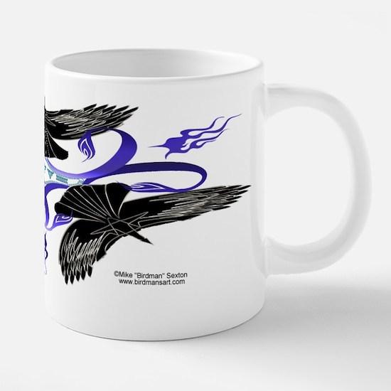 Triple Crow Celtic Knot Large Mugs