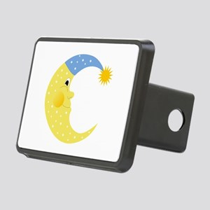 Moon Rectangular Hitch Cover