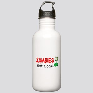 Zombies Eat Local Water Bottle
