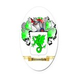Bircumshaw Oval Car Magnet