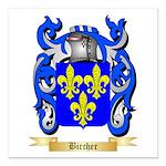 Bircher Square Car Magnet 3