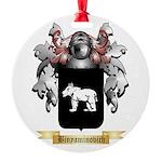 Binyaminovich Round Ornament